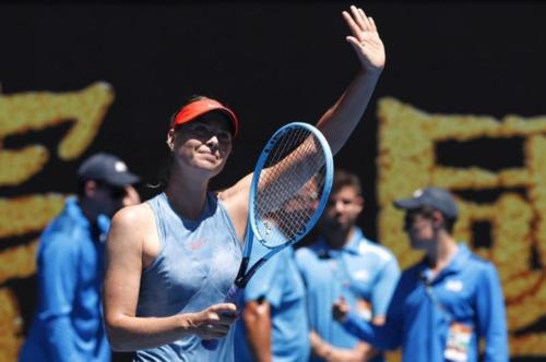 Sharapova thắng dễ ngày ra quân Australia Mở rộng. Ảnh: Reuters.