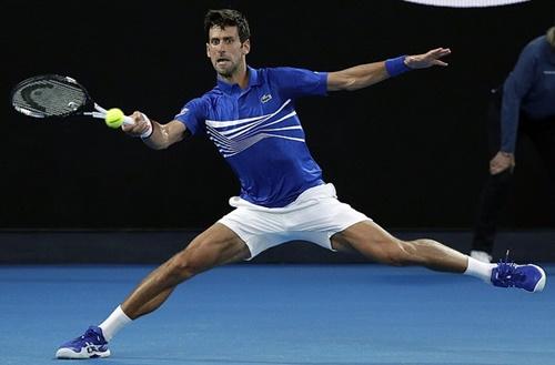 Djokovic khởi đầu thuận lợi ở Australia Mở rộng 2019. Ảnh: AP.