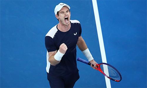Murray thua trận, nhưng đã thắng trong lòng người hâm mộ quần vợt trên toàn thế giới. Ảnh: Reuters.