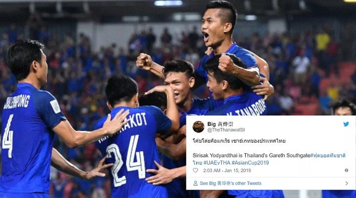 Thái Lan được khen ngợi khi giành vé đi tiếp sau thất bại ở trận ra quân. Ảnh: Fox.