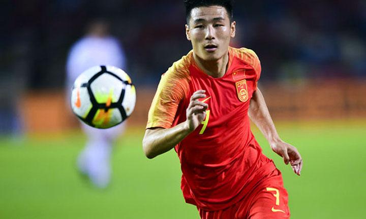 Vũ Lỗi là niềm hy vọng số một của bóng đá Trung Quốc hiện nay. Ảnh: AFC.