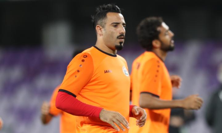Cầu thủ Yemen tập luyện trước trận gặp Việt Nam. Ảnh: Anh Khoa.