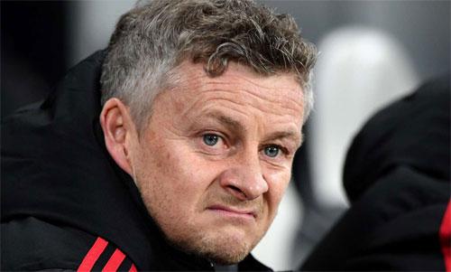 Solskjaer đang có sáu trận toàn thắng với Man Utd. Ảnh: Reuters