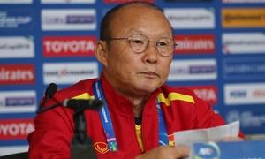 Park Hang-seo: 'Tiếc vì không thể ghi thêm một bàn vào lưới Yemen'