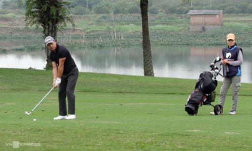 Park Sang Ho là golfer ổn định nhất giải qua hai vòng đầu. Ảnh: Nhân Đạt.