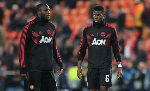 Man Utd tốn nhiều tiền cho cặp Lukaku - Pogba. Ảnh: Reuters