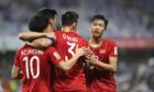 Việt Nam vào vòng 1/8 nhờ ít thẻ vàng hơn Lebanon