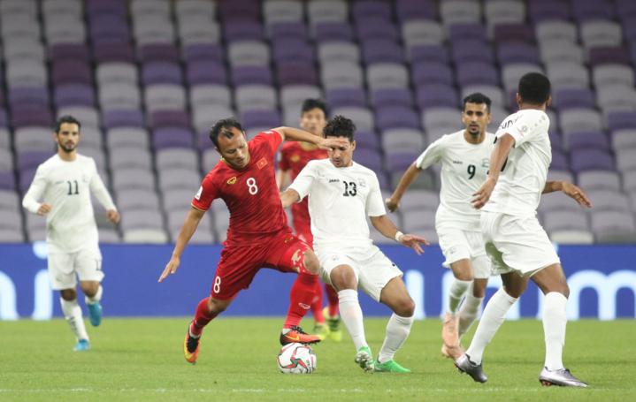 Ba điểm của Việt Nam đến từ trận thắng Yemen ở lượt trận cuối cùng hôm 16/1. Ảnh: Anh Khoa.
