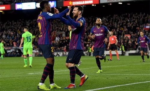 Levante không thể tận dụng lợi thế thắng 2-1 trong trận lượt đi. Ảnh: Reuters