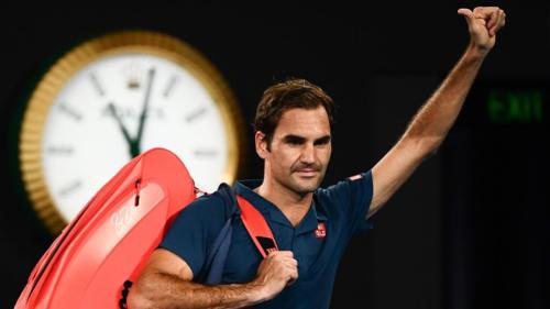 Federer lần đầu không thể góp mặt trong tuần thứ hai của Australia Mở rộng kể từ thất bại ở vòng ba năm 2015 trước Andreas Seppi. Ảnh: Australian Open.