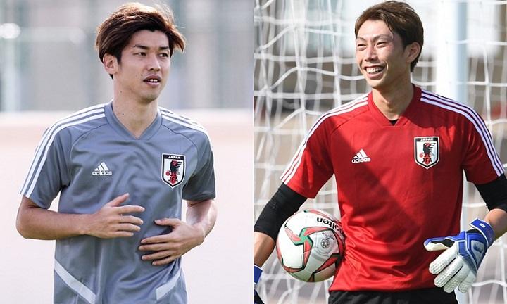 Osako và Higashiguchi sẵn sàng cho trận đấu với Việt Nam. Ảnh: JFA.