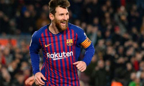Messi đang được giảm cường độ thi đấu. Ảnh: Reuters