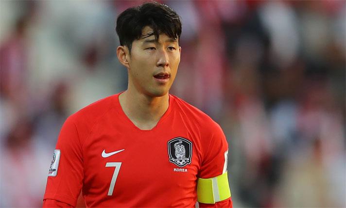 Không phải CĐV nào cũng muốn Son Heung Min chiến thắng tại Asian Cup. Ảnh: Reuters