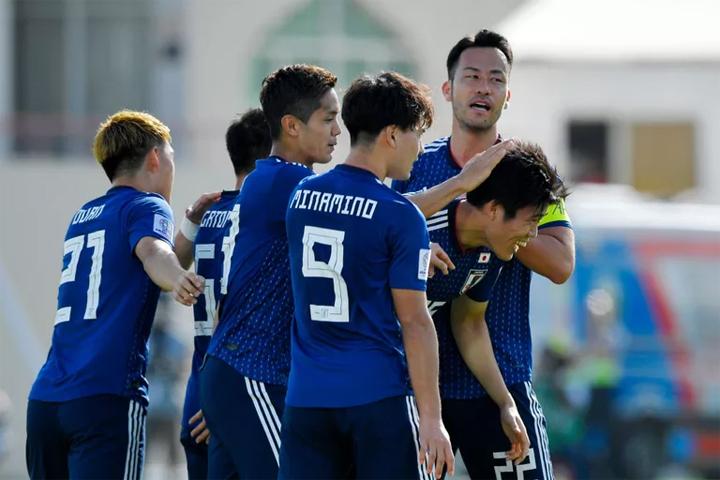 Nhật Bản toàn thắng cả bốn trận tại giải năm nay, đều với cách biệt chỉ một bàn. Ảnh: FOX Sports.