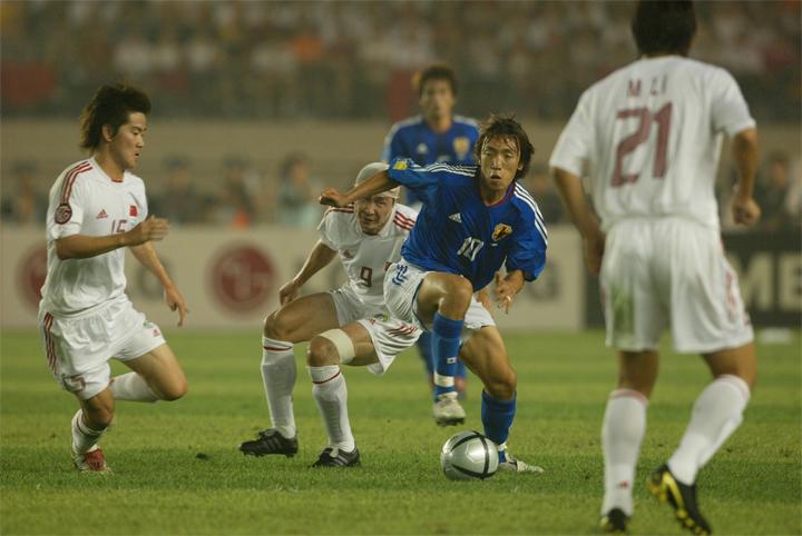 Nakamura là hiện thân cho thứ bóng đá đẹp nhất mà Nhật Bản trình diễn ở Asian Cup 2004.