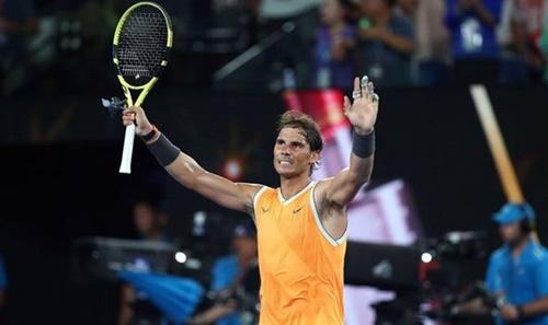 Nadal chơi rất ổn định tại Australia Mở rộng 2019. Ảnh: AP.