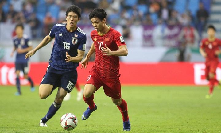 Màn trình diễn của Công Phượng và đồng đội trước Nhật Bảnđược đánh giá cao. Ảnh: Đức Đồng.