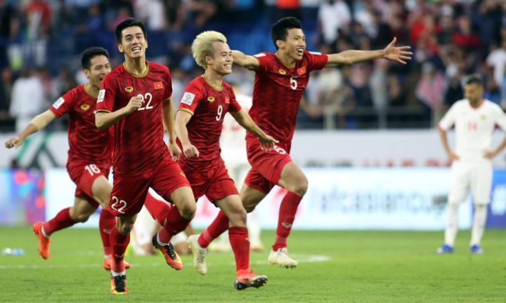 Với tâm lý thoải mái, Việt Nam có thể làm nên chuyện trước Nhật Bản. Ảnh: Anh Khoa.