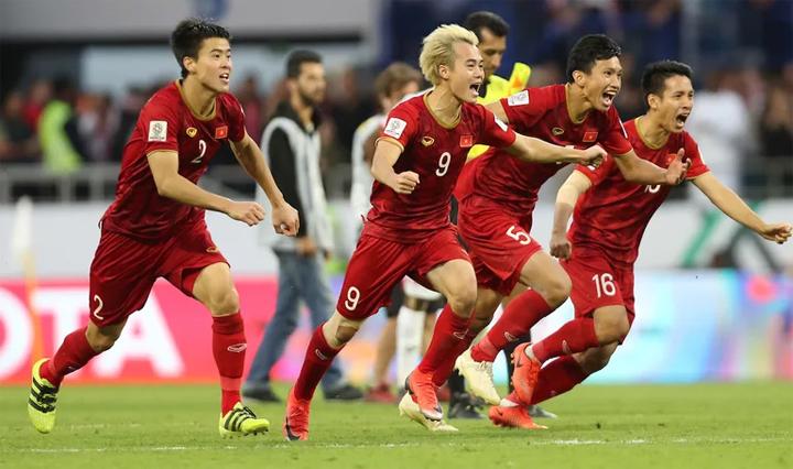 Việt Nam là đội Đông Nam Á duy nhất vào tứ kết Asian Cup.
