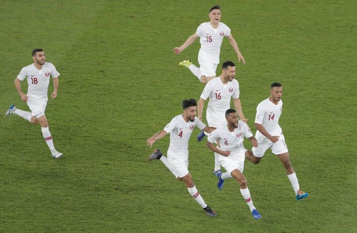 Qatar cho thấy sự tiến bộ vượt bậc khi đánh bại Hàn Quốc. Ảnh:AFC.