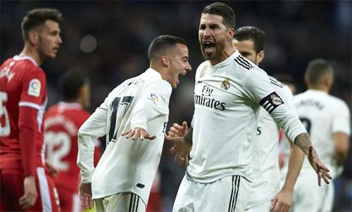 Real đang tiến gần đến Cup Nhà vua 2018-2019. Ảnh: Reuters