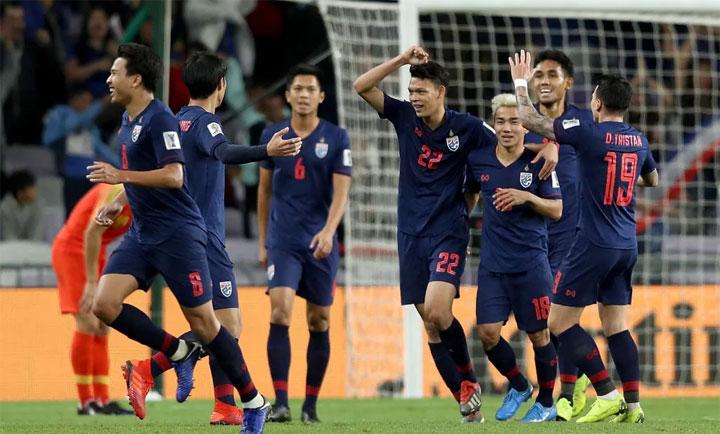 Tuyển Thái Lan đáp ứng được kỳ vọng của giới hâm mộ tại Asian Cup. Ảnh: Fox Sports