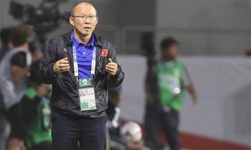 HLV Park muốn Việt Nam chú trọng hơn cho đào tạo trẻ để hướng đến World Cup. Ảnh: Đức Đồng.