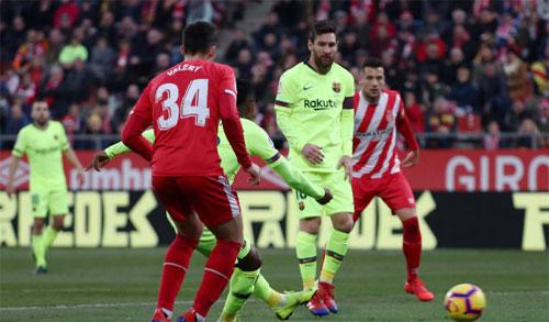 Semedo có bàn đầu tiên trong sự nghiệp La Liga. Ảnh: Reuters