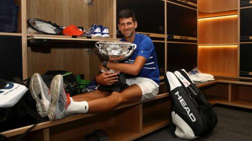 Djokovic muốn trở thành người vĩ đại nhất trong lịch sử quần vợt. Ảnh:Sky.