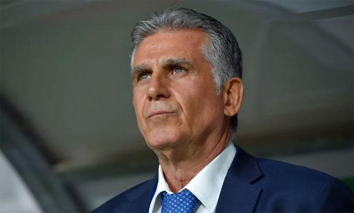 Queiroz chia tay Iran sau trận thua Nhật Bản 0-3 ở bán kết Asian Cup. Ảnh: Fox.