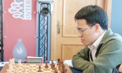 Quang Liêm có màn trình diễn tương đương Elo 2.771 kể từ đầu giải. Ảnh: GCF.