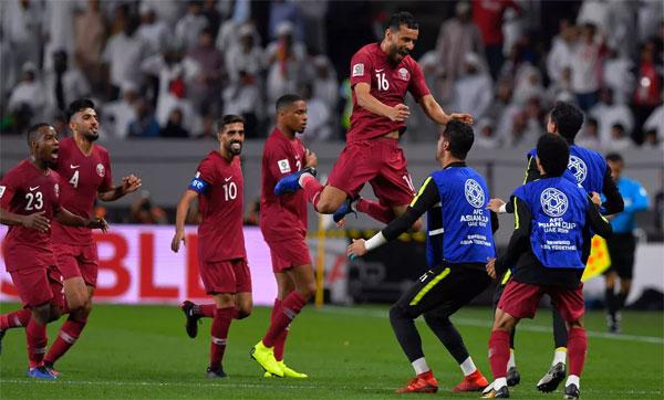 Qatar có sự vượt trội về cả sức mạnh cũng như sự may mắn. Ảnh: Reuters