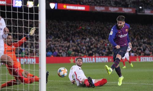 Sevilla không ngờ để lọt lưới sáu bàn trong trận lượt về, nhất là khi từng thắng trước 2-0 ở lượt đi.
