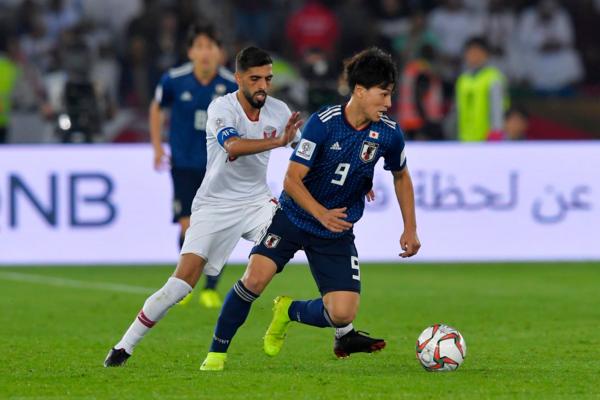 Nỗ lực của Nhật Bản chỉ giúp họ có bàn thắng rút ngắn tỷ số của Minamino. Ảnh:AFC.