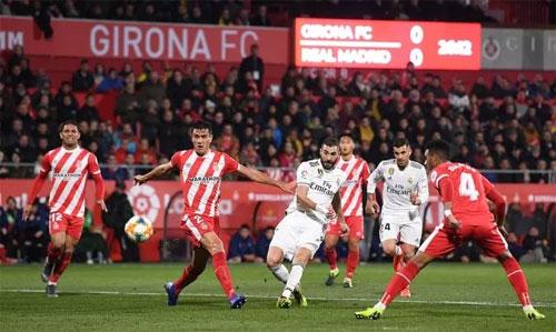 Benzema đang chơi với phong độ cao.