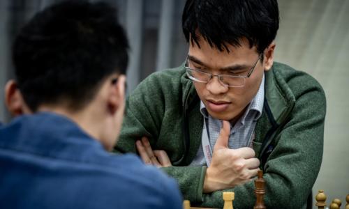Quang Liêm thi đấu thành công tại giải cờ mở rộng mạnh bậc nhất, từ 22/1 đến 31/1. Ảnh: GCF.