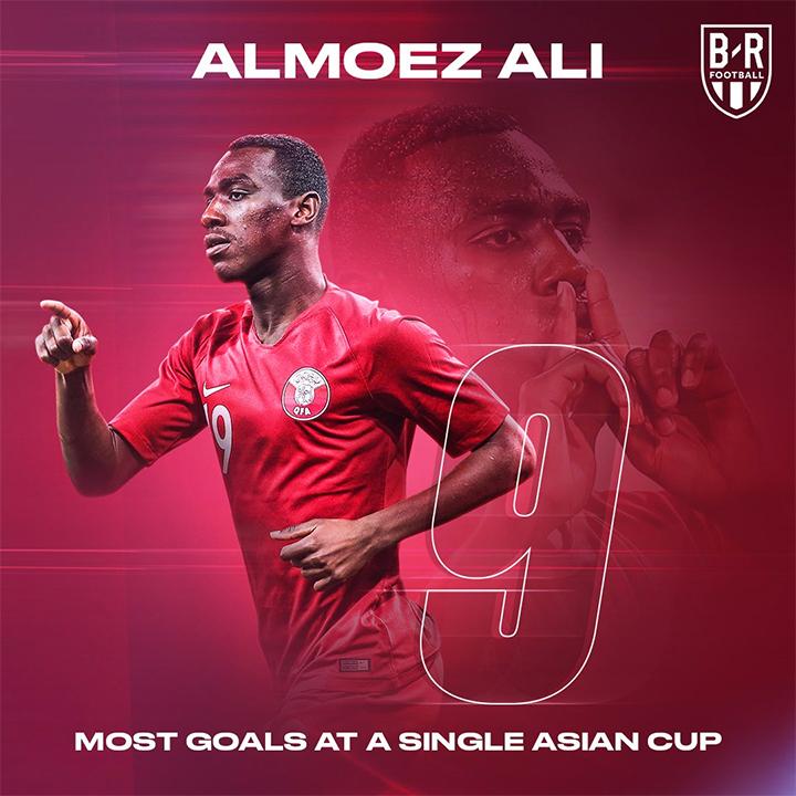 Chín bàn của Ali là thành tích tốt nhất của Vua phá lưới ở một kỳ Asian Cup.