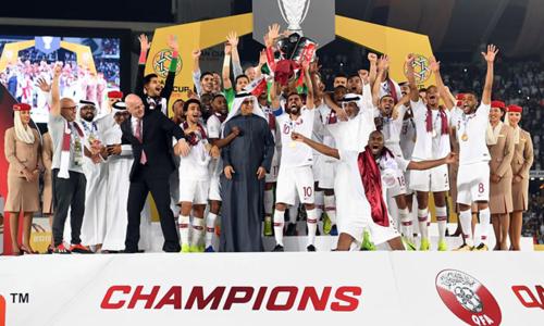 Qatar lần đầu tiên vô địch Asian Cup. Ảnh: AFC.