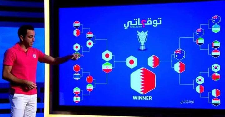 Dự đoán của Xavi trước khi Asian Cup diễn ra.
