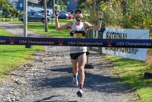 Ornelas về nhất nam tại giải Road National Championships 50 dặm năm 2018 với thời gian 5 giờ 55 phút 12 giây. Ảnh: Tussey mountainback 50 Mile Relay & Ultramarathon.