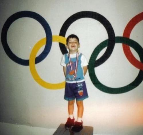 Dự Olympic là mơ ước của Ornelas từ thuở bé.