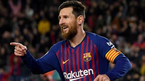 Barca phụ thuộc vào Messi càng nhiều từ khi Xavi, Neymar và Iniesta ra đi. Ảnh:AFP.