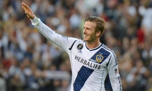 Beckham là ngôi sao lớn nhất của LA Galaxy trong giai đoạn anh thi đấu ở đó.