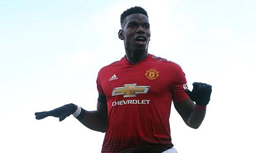 Pogba thăng hoa là nguyên nhân quan trọng giúp Man Utd hồi sinh. Ảnh: Reuters.