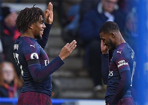 Niềm vui chiến thắng trở lại với Arsenal sau nỗi thất vọng thua Man City cách đây một tuần. Ảnh: Arsenal.