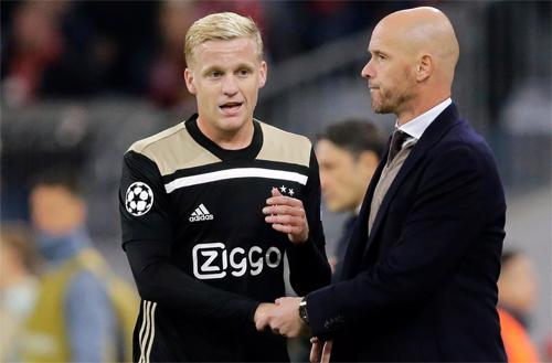HLV Ten Hag luôn dư thừa các lựa chọn được đôn lên từ tuyến trẻ Ajax.