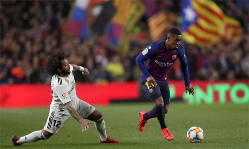 Trận El Clasico ở bán kết lượt đi Cup Nhà Vua hôm 6/2 là minh chứng mới nhất cho sự sa sút của Marcelo mùa này.