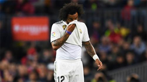 Real Madrid đã trở lại với đường đua vô địch, nhưng Marcelo không có đóng góp gì cho biến chuyển tích cực ấy.