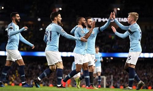 Man City khẳng định sức mạnh với chiến thắng tưng bừng trước Chelsea. Ảnh: PA.