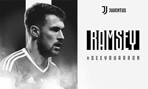 Hẹn gặp anh, Aaron là thông điệp chào đón của Juventus dành cho tân binh người Xứ Wales.